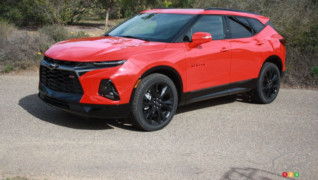 medium resolution of 2019 chevrolet blazer first drive half a century later