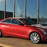 The 2016 Cadillac Ats Coupe 2 0l Turbo Means Business Car Reviews Auto123