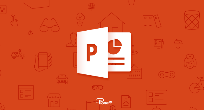 Using Picons vector icons in Powerpoint
