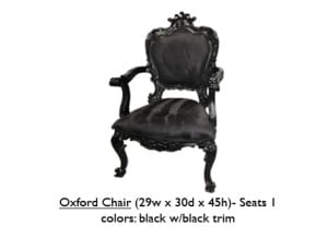 Trim Oxford Chair