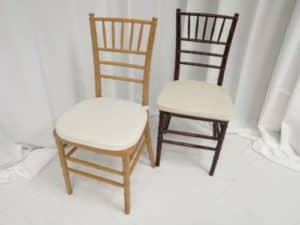 Natural/Rosewood Dining Chair