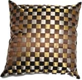 gold-and-silver-checkered-throw-pillow-furniture-rental-in-los-angeles