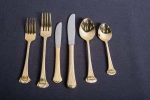gold-plated-silverware-dinnerware-rental-in-los-angeles