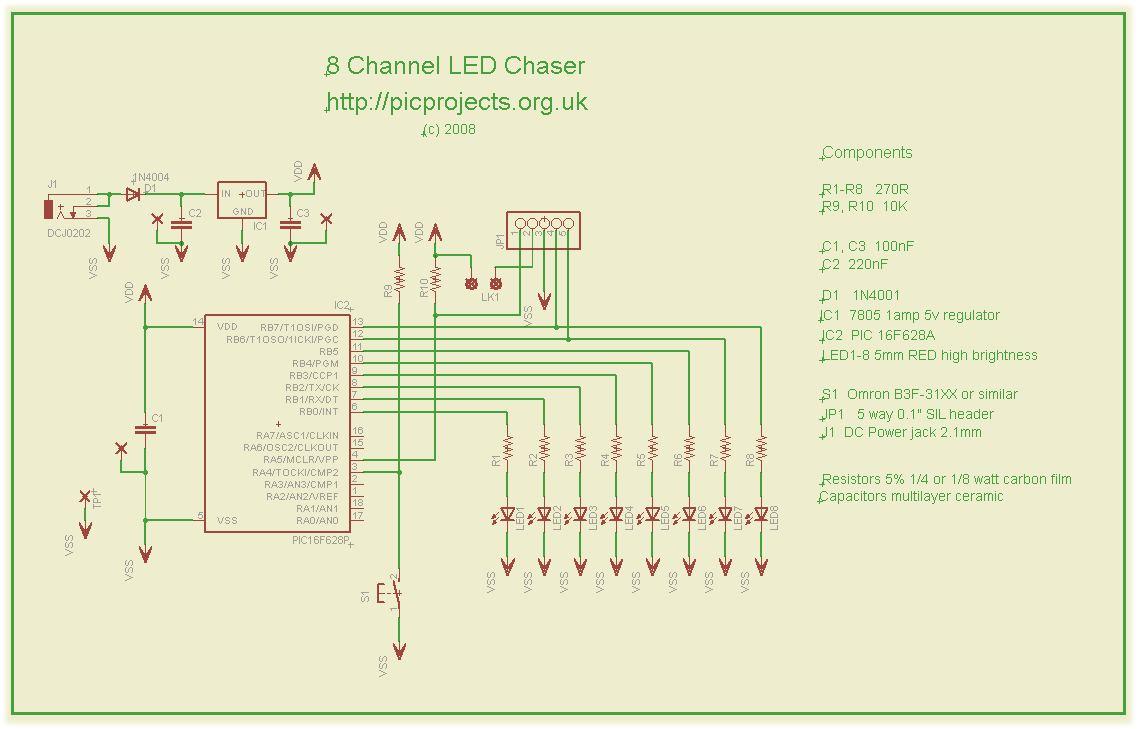hight resolution of circuit diagram knight rider light
