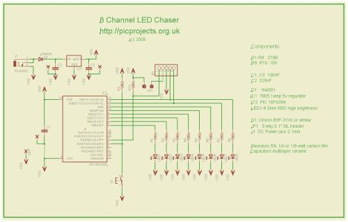 small resolution of circuit diagram knight rider light