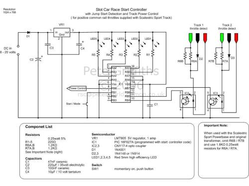small resolution of race start controller schematic click here for pdf version