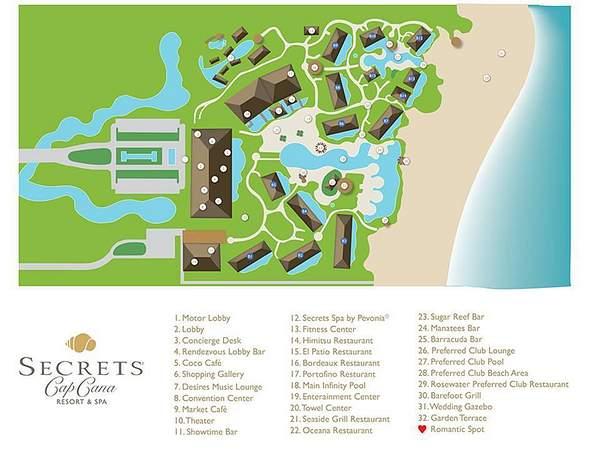 Cana Punta Secrets Cana Cap