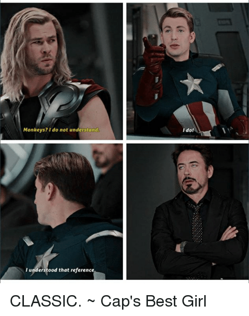 I Understood That Reference Gif : understood, reference, Memes, About, Captain, America, Understood, Reference