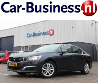 PEUGEOT 508 1.6 HDIF 120pk Executive 6-bak + Leder + Navi + Lmv - Nw. Model Car-Business, Raamsdonksveer