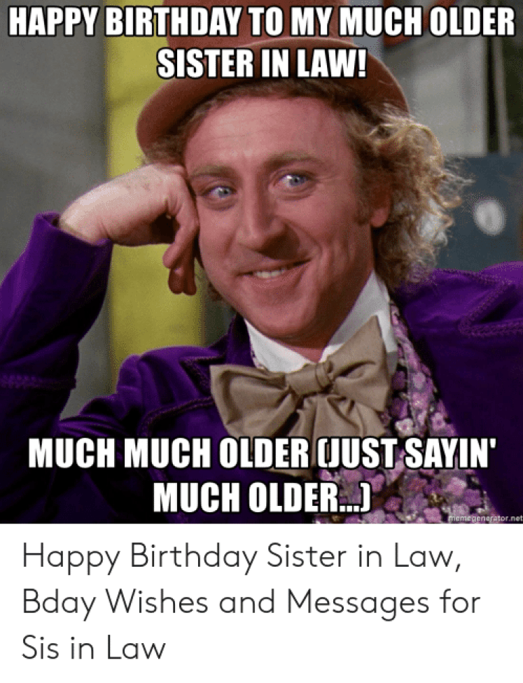 🐣 25+ Best Memes About Birthday Sister in Law | Birthday Sister in Law  Memes