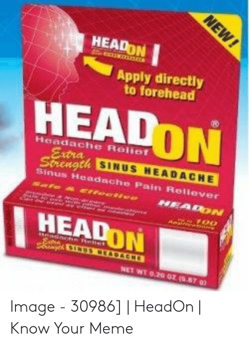 headon apply directly to