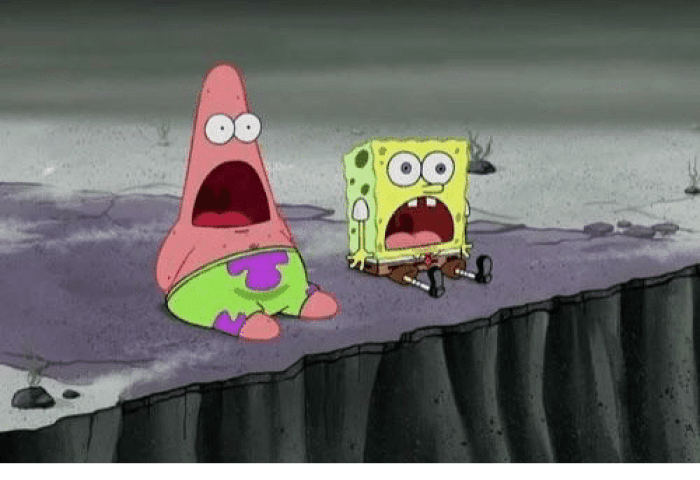 When You Discover That Spongebobs Cake Day Is Also Your Cake Day I