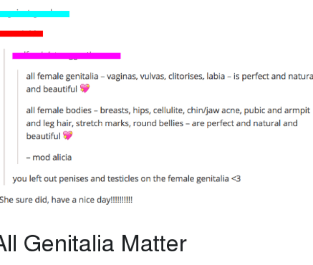 All Female Genitalia And Beautiful Vaginas Vulvas Clitorises Labia Is Perfect And Natural All Female Bodies Breasts Hips Cellulite Chinjaw Acne Pubic