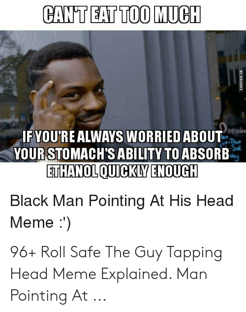 Black Guy Pointing At Head Meme : black, pointing, 🅱️, Memes, About, Black, Pointing