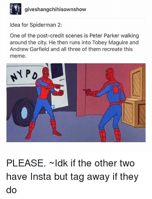 Two Spiderman Meme : spiderman, Spiderman