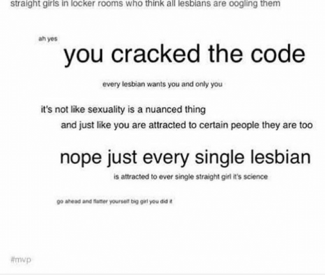 Girls Lesbians And Memes Roxy Lalonde Straight Girls In Locker Rooms Who Think