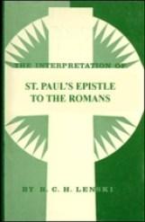 The Interpretation of St. Paul's Epistle to…