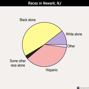 Newark New Jersey NJ profile population maps real