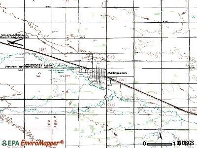 Atkinson, Nebraska (NE 68713) profile: population, maps