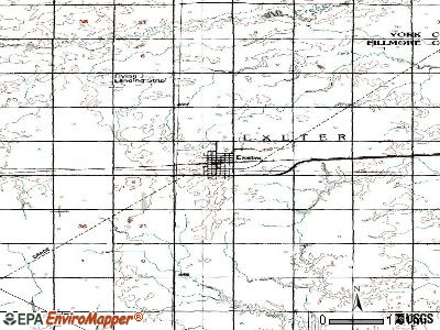 Exeter, Nebraska (NE 68351) profile: population, maps