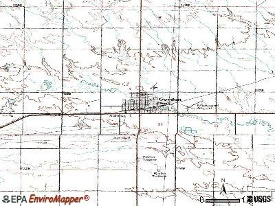 Gordon, Nebraska (NE 69343) profile: population, maps