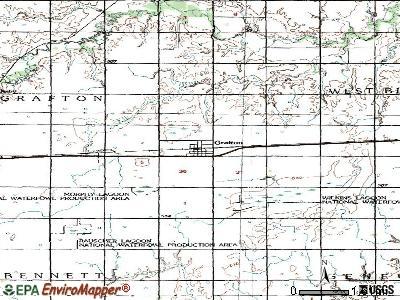 Grafton, Nebraska (NE 68365) profile: population, maps