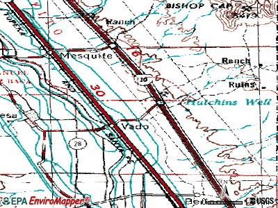 Vado New Mexico NM 88072 profile population maps