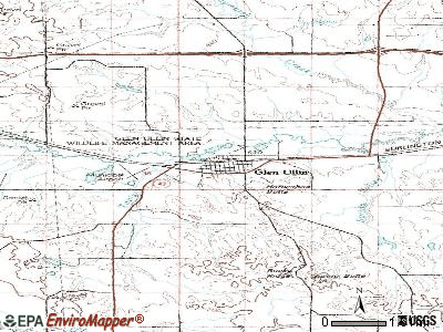 Glen Ullin, North Dakota (ND 58631) profile: population