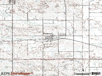 Hebron, North Dakota (ND 58638) profile: population, maps