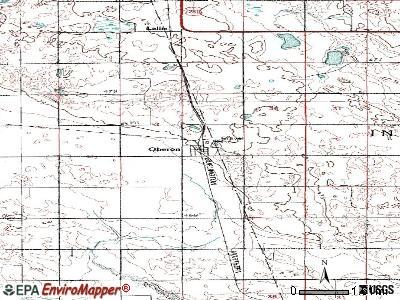 Oberon, North Dakota (ND 58357) profile: population, maps