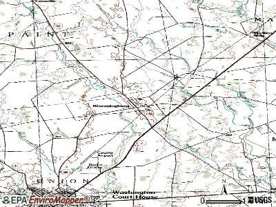 Bloomingburg, Ohio (OH 43106, 43160) profile: population