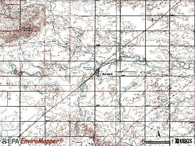 Avard Oklahoma OK 73717 profile population maps real