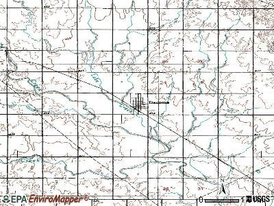 Dacoma Oklahoma OK 73731 profile population maps