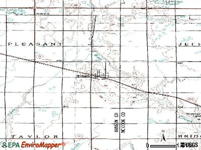 Emery, South Dakota (SD 57332) profile: population, maps