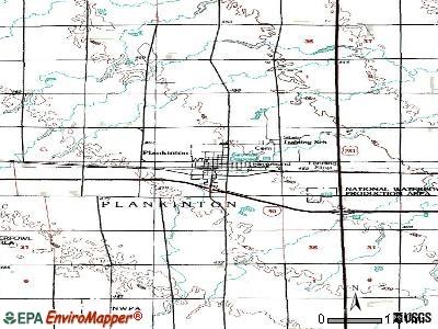 Plankinton, South Dakota (SD 57368) profile: population