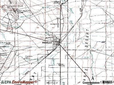 Milford, Utah (UT 84751) profile: population, maps, real
