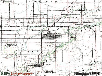 Auburn, Illinois (IL 62530, 62615) profile: population