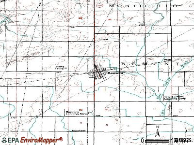 Bellmont, Illinois (IL 62811, 62863) profile: population