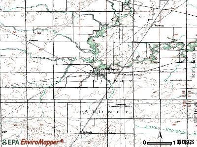 Sidney, Illinois (IL 61877) profile: population, maps