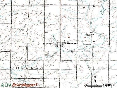 George, Iowa (IA 51237) profile: population, maps, real