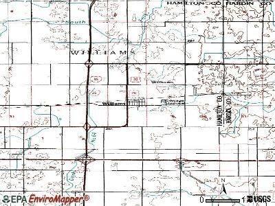 Williams, Iowa (IA 50271) profile: population, maps, real