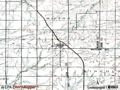 Burns, Kansas (KS 66840) profile: population, maps, real