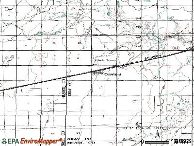 Copeland, Kansas (KS 67837) profile: population, maps