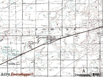 Fowler, Kansas (KS 67844) profile: population, maps, real