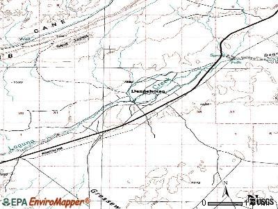 Dennehotso, Arizona (AZ 86535) profile: population, maps