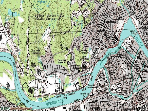 Lowell Ma Zip Code Map Zip Code MAP