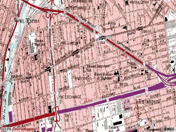 Zip Code Map Bronx.Income Zip Code Map Bronx