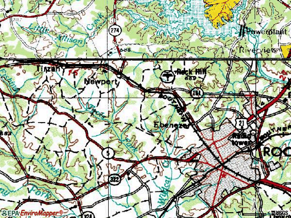 Rock Hill Sc Zip Code Map.Rock Hill Sc Zip Code Map