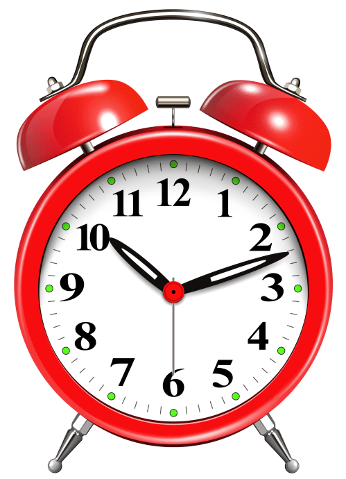 small resolution of alarm clock red png clip art
