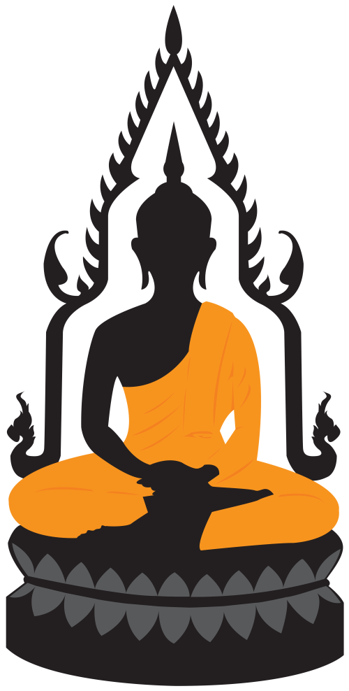 small resolution of buddha lotus statue png clip art
